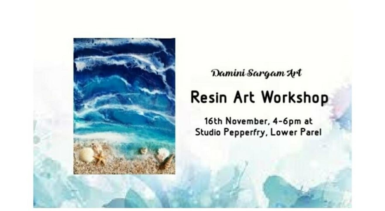Resin Art Workshop- By Damini Sargam