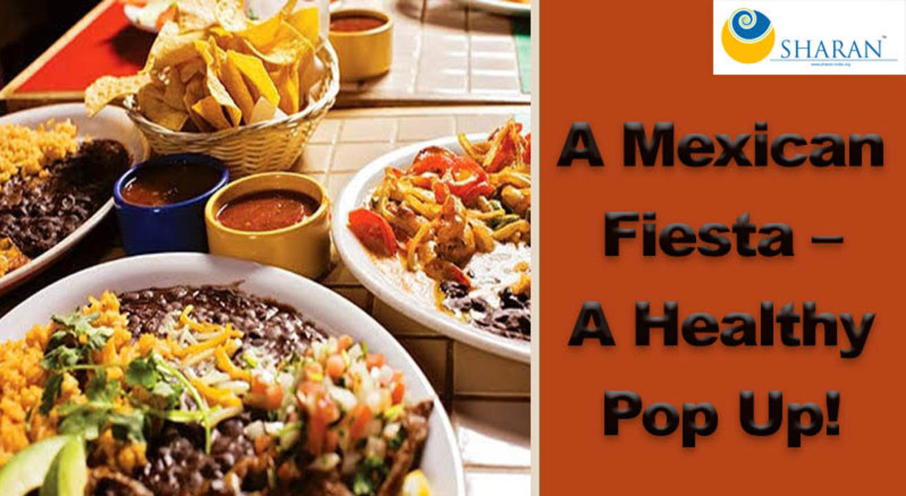 A Mexican Fiesta – a Healthy Pop Up!