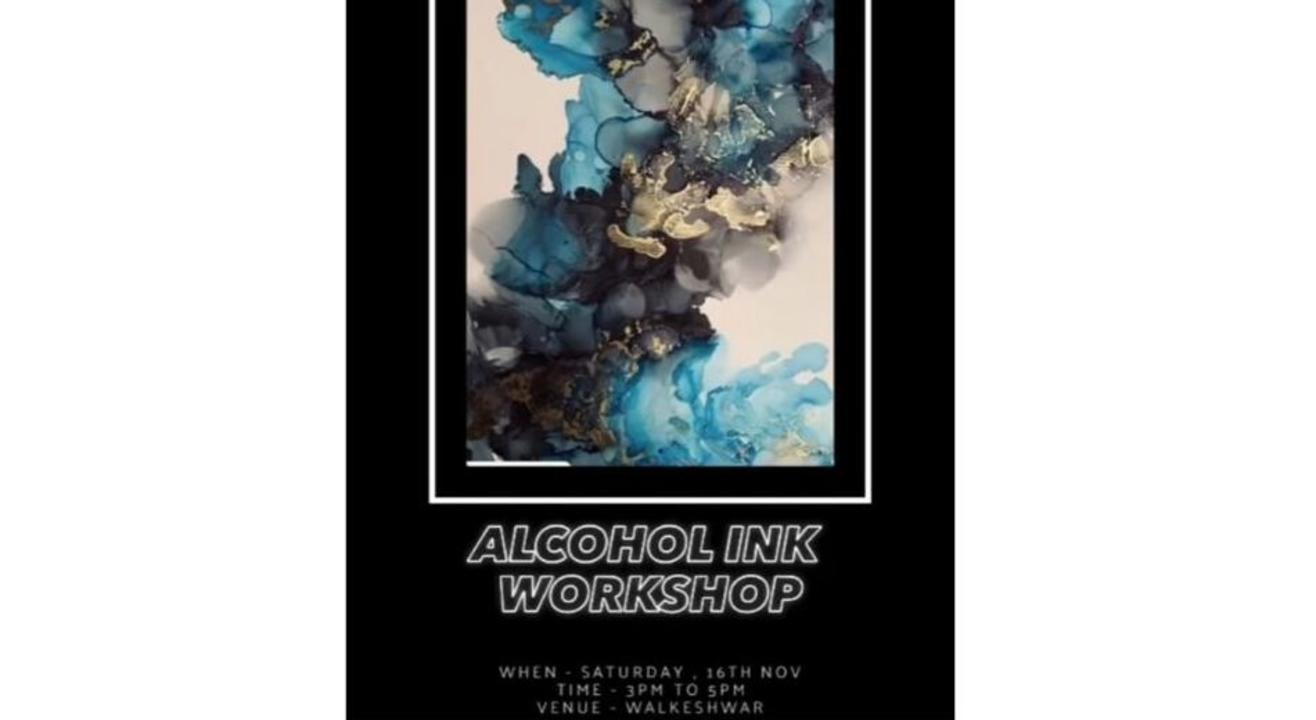 Alcohol Ink Workshop: By Atika