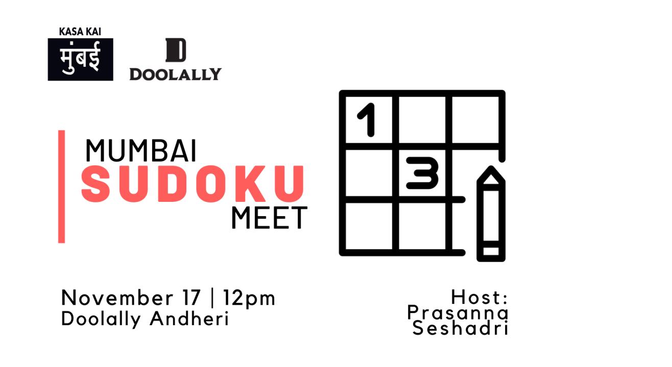 Mumbai Sudoku Meet at Doolally Andheri