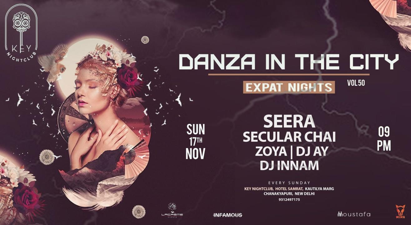 Danza In The City Vol 50 : Expat Nights