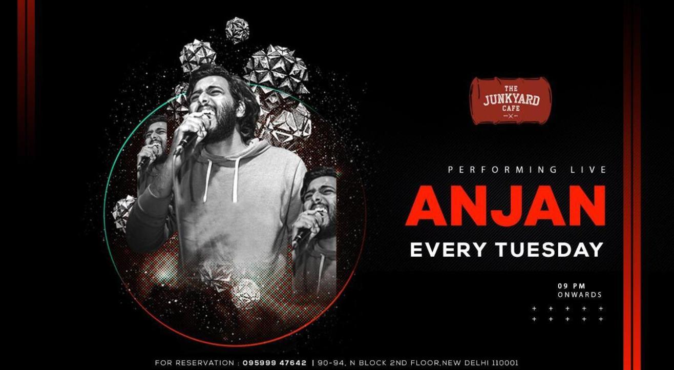 Performing Live Anjan