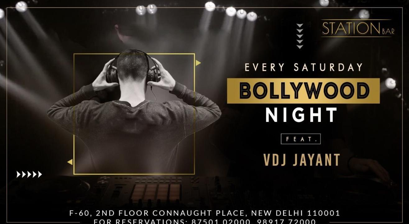 Bollywood Night Ft. VDJ Jayant