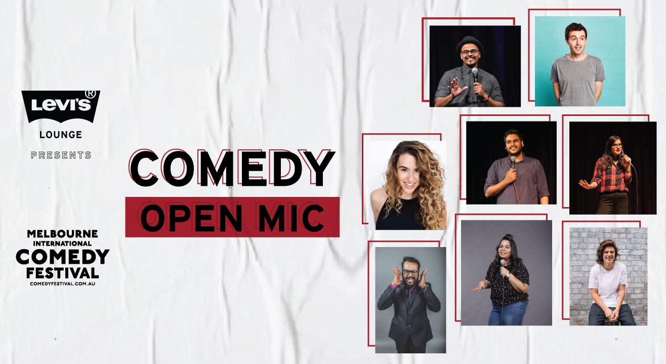 Levi's® Lounge presents Comedy Open Mic