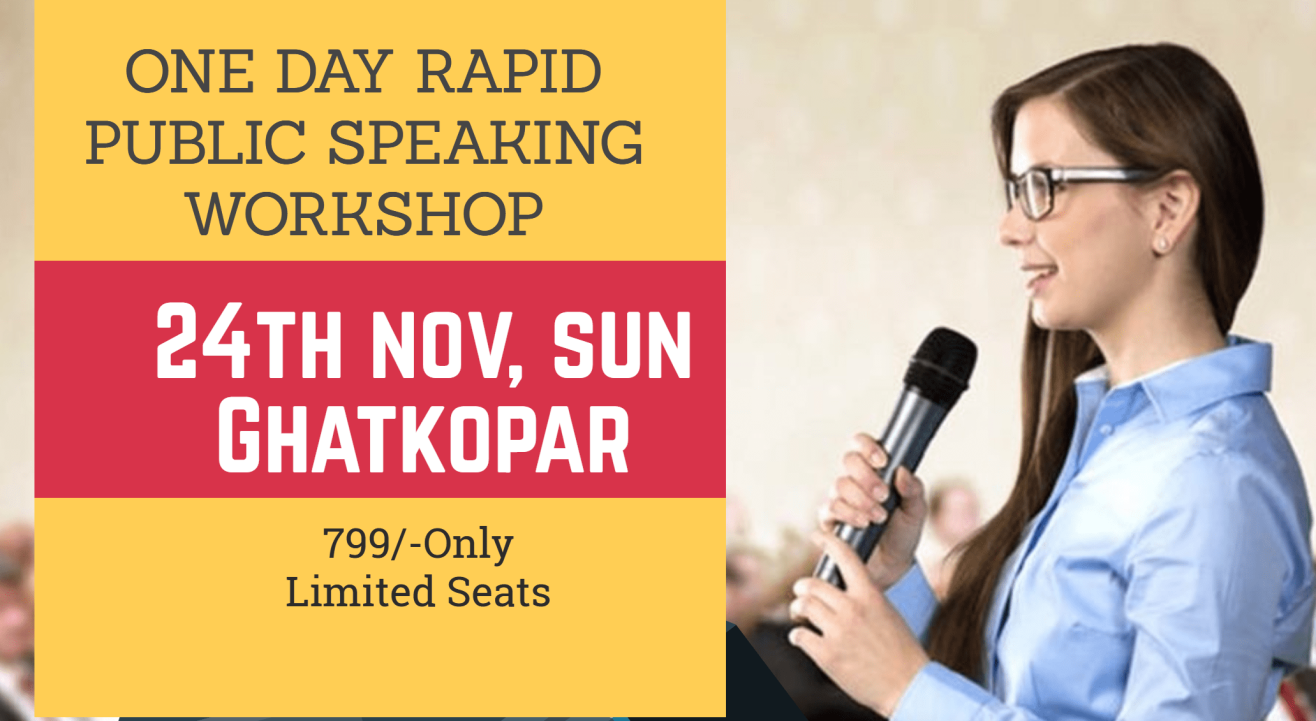 One Day Power Course on Rapid Public Speaking and Communication Skills