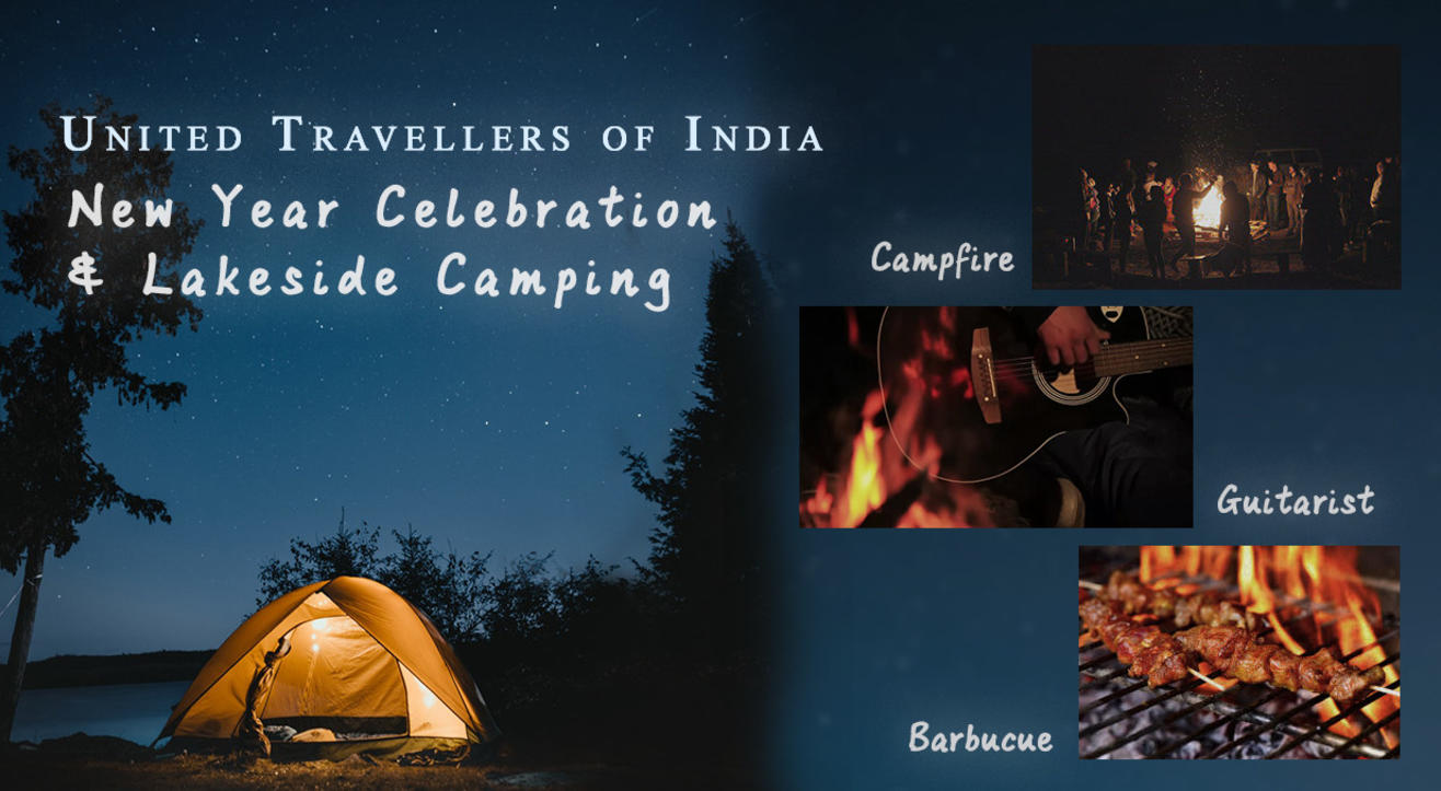 New Year Celebrations with Lake Side Camping with UTI..!!!