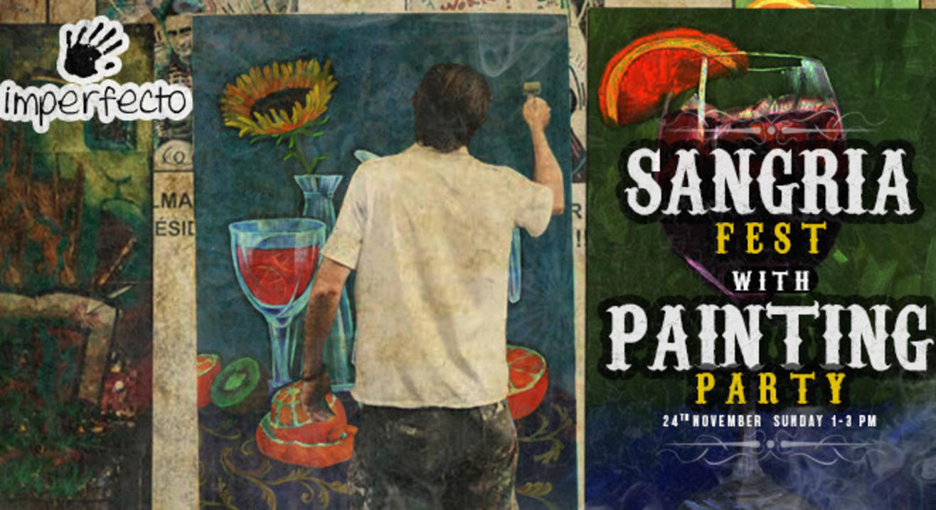 Sip & Paint | Sangria Fest with Painting Party