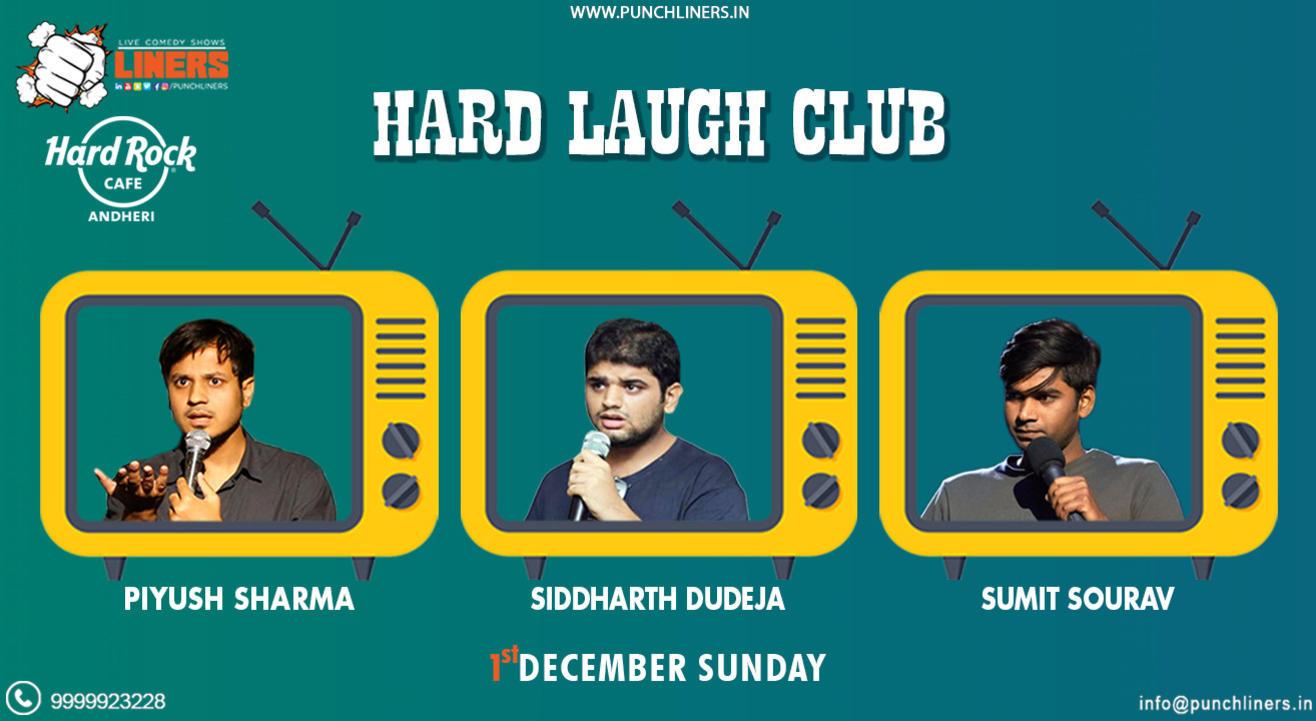 Punchliners Comedy Show: Piyush, Siddharth & Sumit