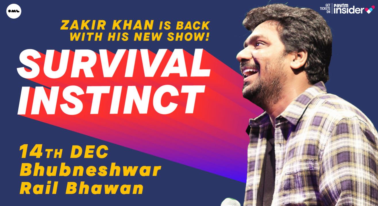 Survival Instinct A New Stand up Special by Zakir Khan, Bhubaneswar