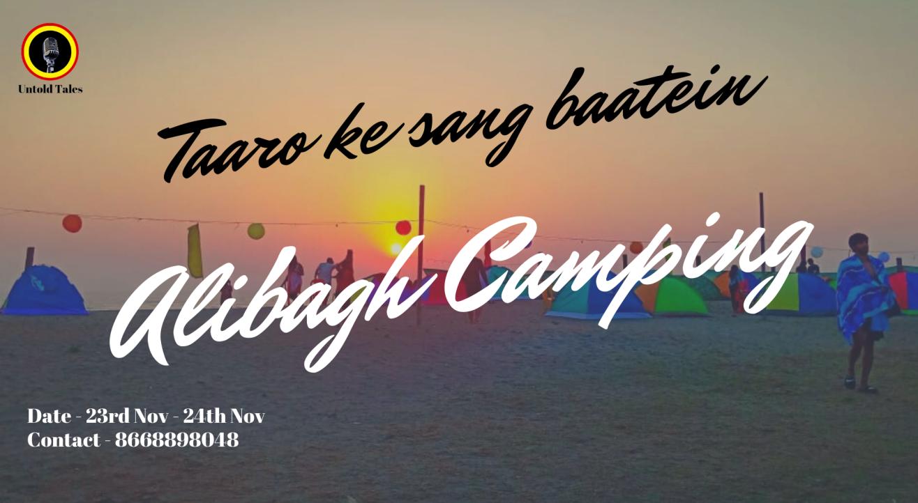Camping Alibag - Taaro ke Sang Baatein