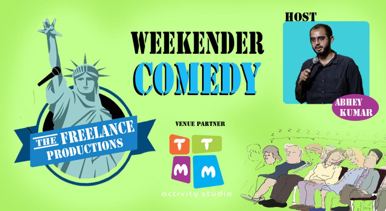 COMEDY WEEKENDER : open mic