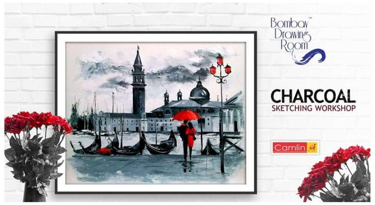 Charcoal Sketching Workshop-Bombay Drawing Room