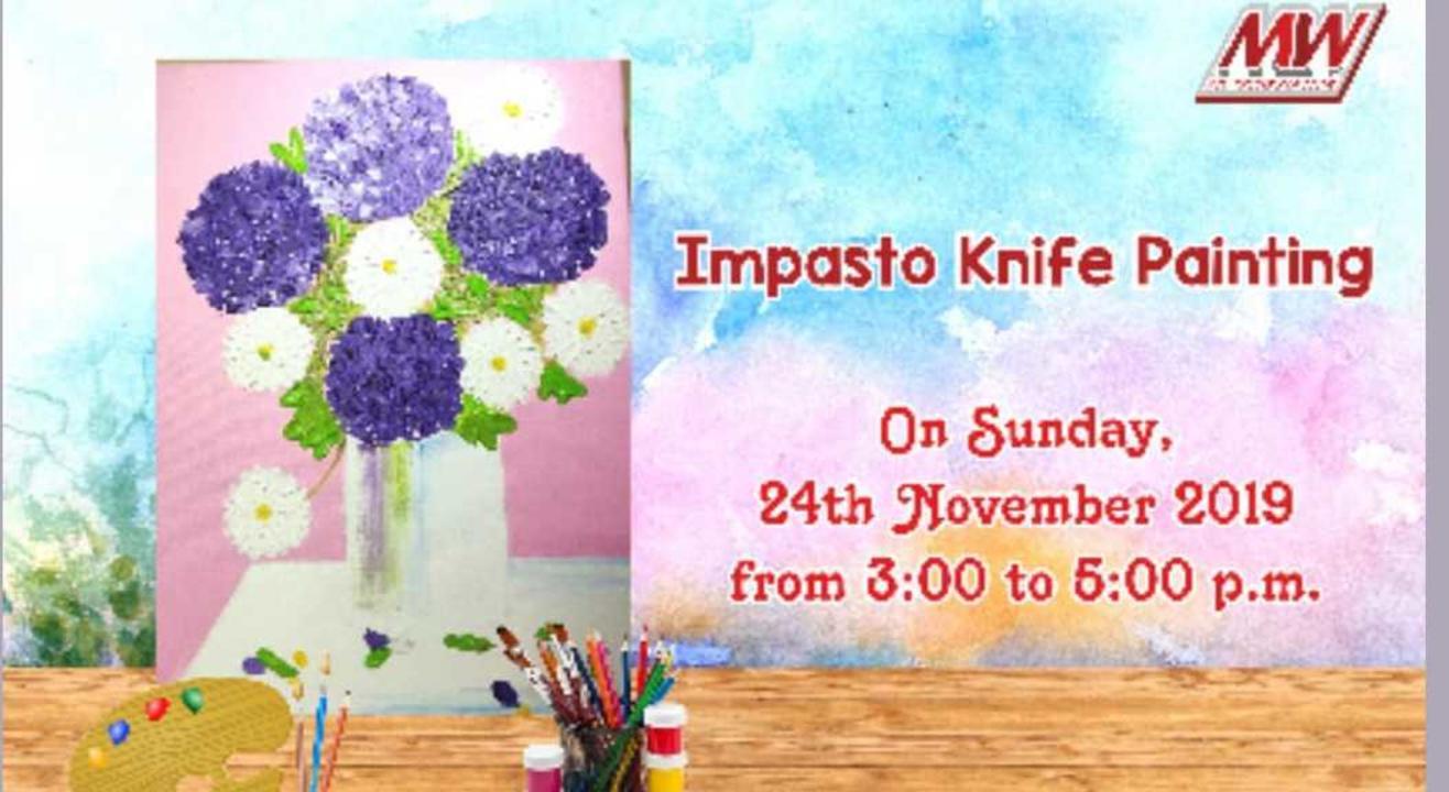 Impasto Knife Painting