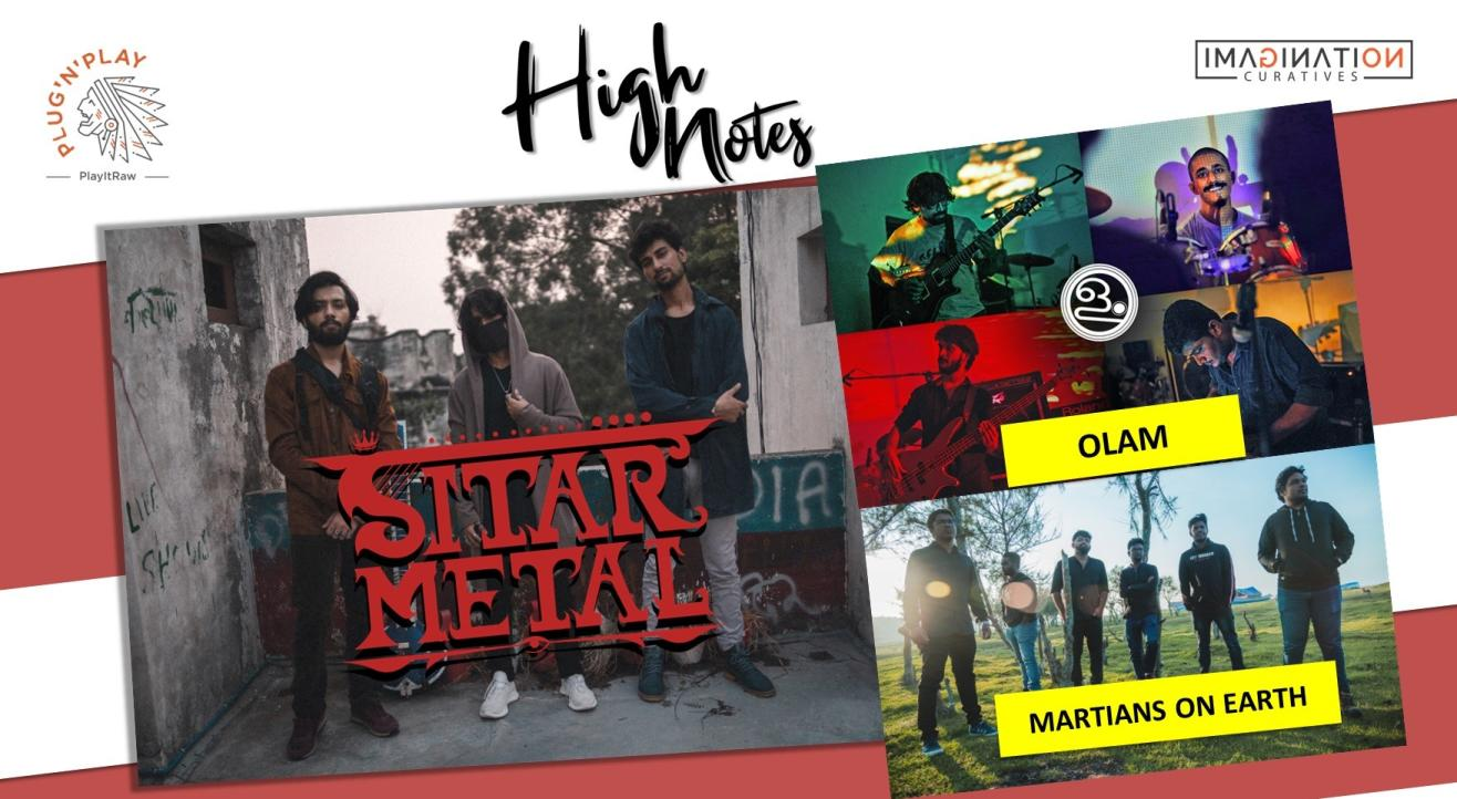 Sitar Metal, Martians on Earth & Olam : Live