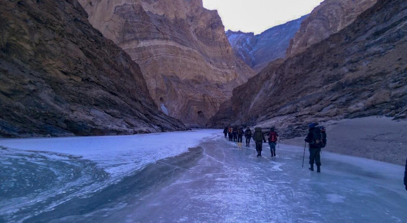 Chadar Trek - Ladakh