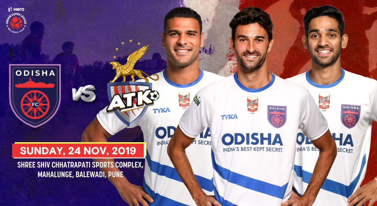 Hero Indian Super League 2019-20: Odisha FC vs ATK