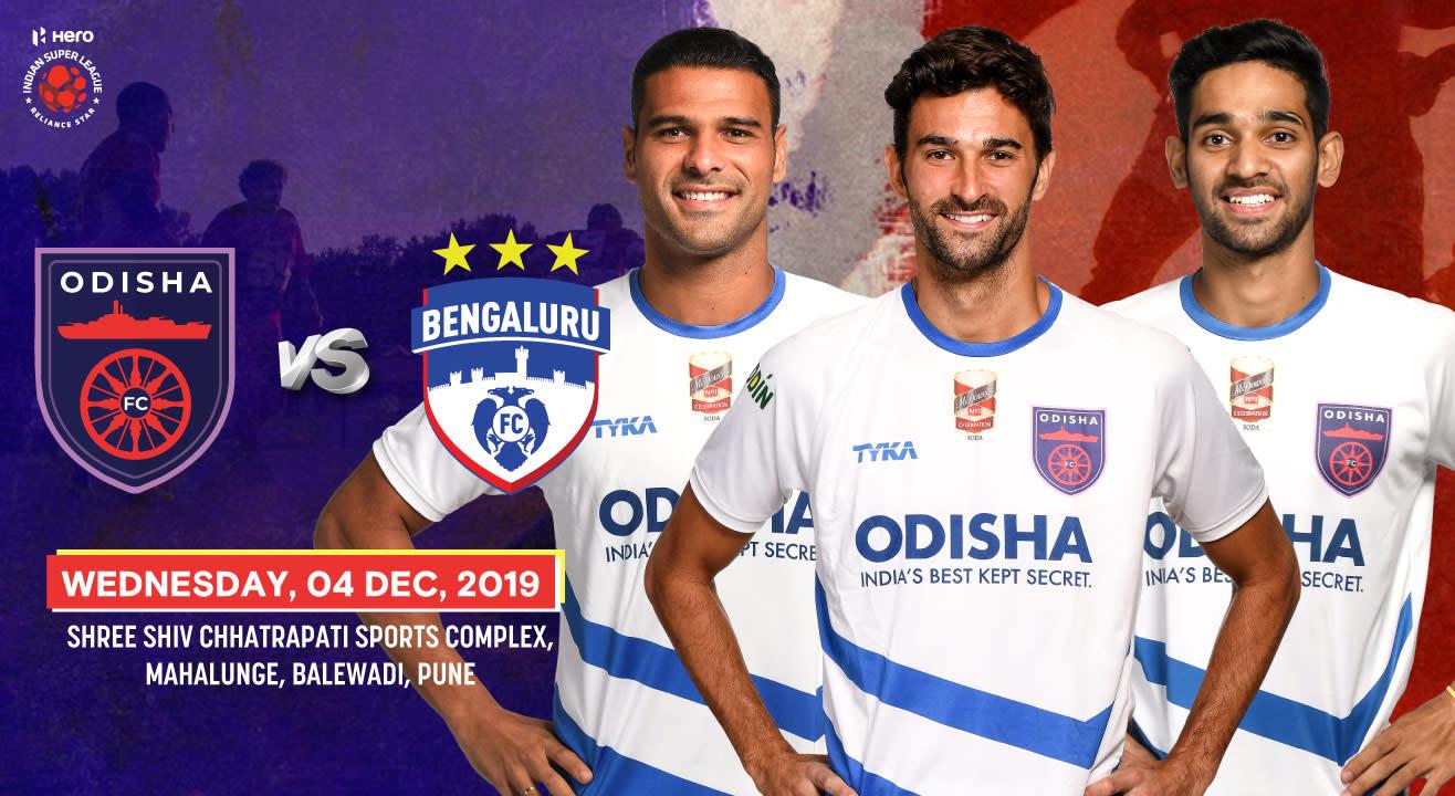 Hero Indian Super League 2019-20: Odisha FC vs Bengaluru FC