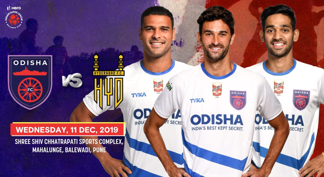Hero Indian Super League 2019-20: Odisha FC vs Hyderabad FC