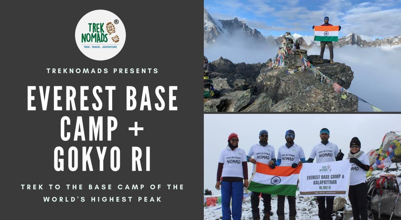 Everest Base Camp + Kala Patthar Trek | TrekNomads