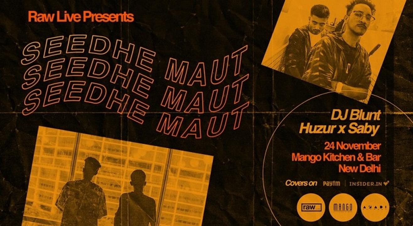 Raw Live Presents Seedhe Maut & Friends