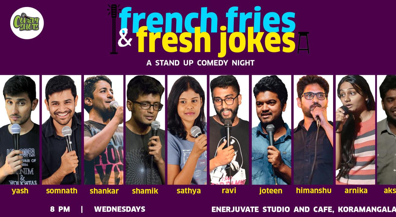 French Fries & Fresh Jokes