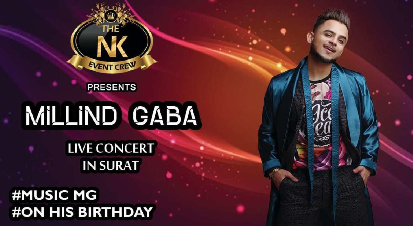 Millind Gaba Live Concert