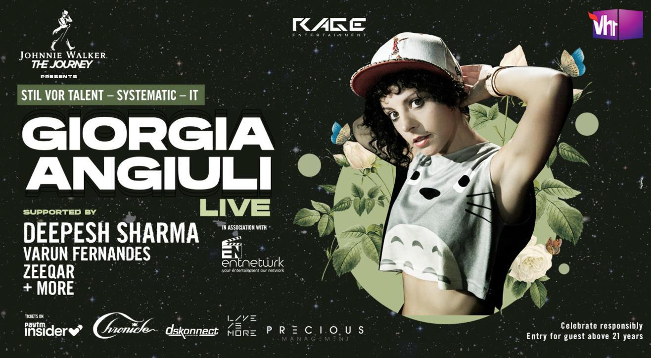 Giorgia Angiuli (Live) in Goa