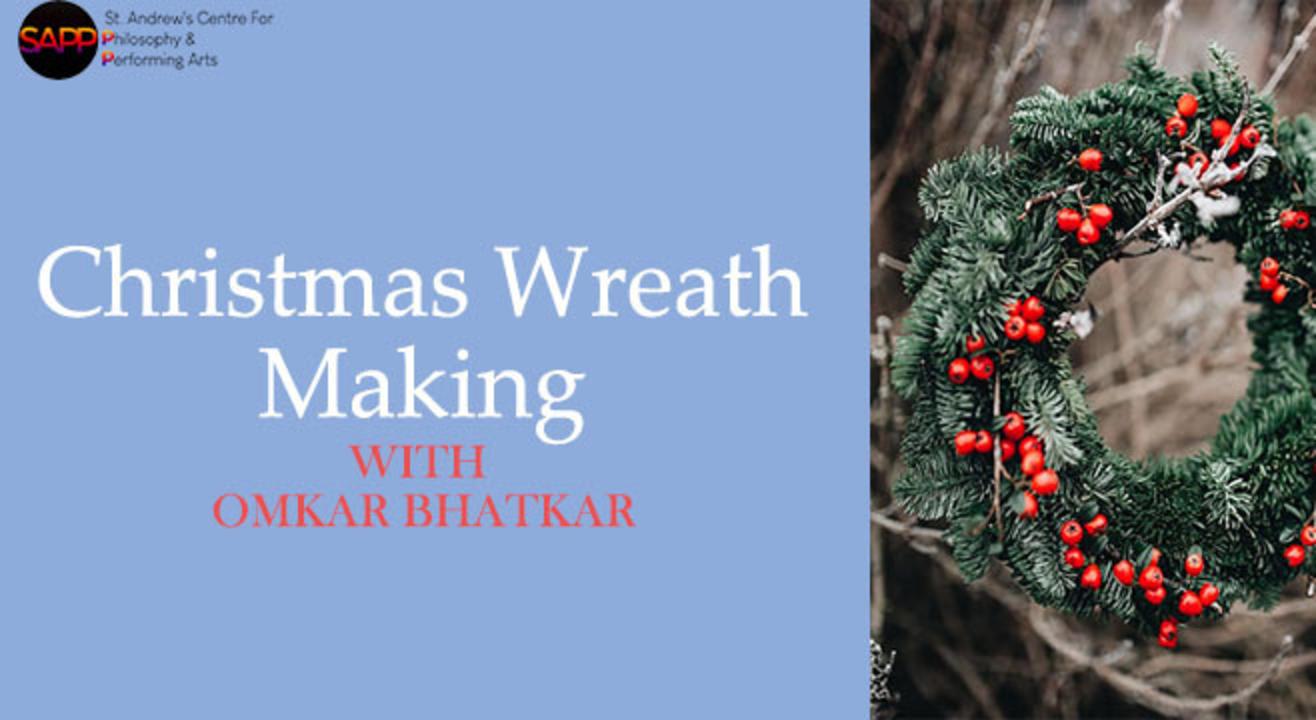 Workshop: Christmas Wreath Making