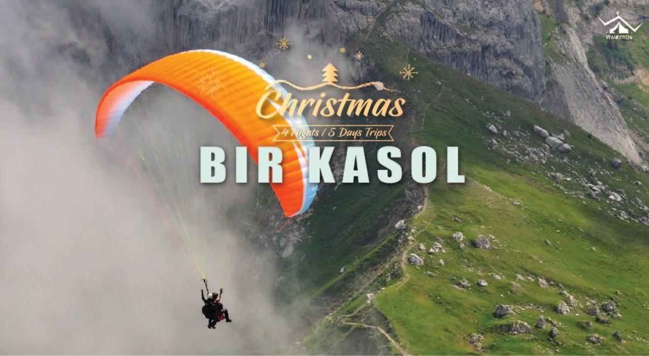 Bir Kasol - Christmas Trip Paragliding, Camping and Bonfire with WanderOn