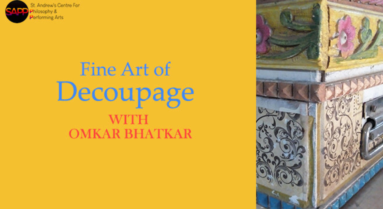 Workshop: Fine Art of Decoupage