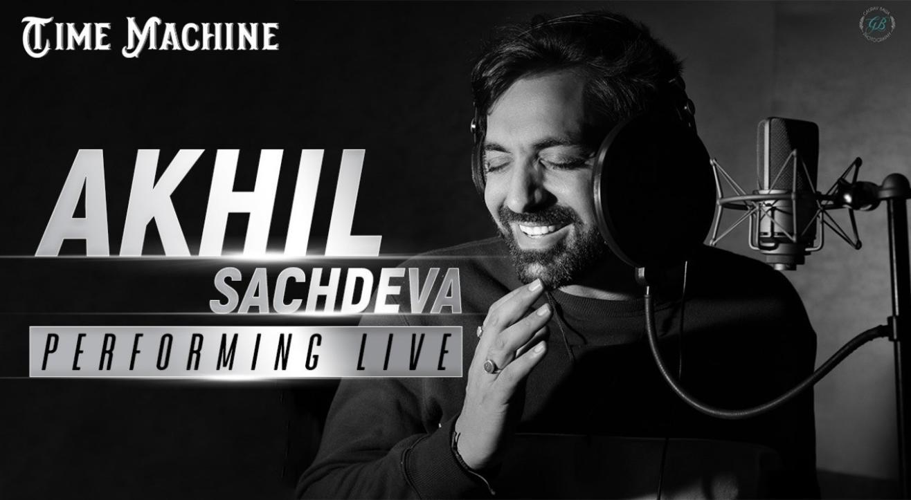 Akhil Sachdeva Performing Live