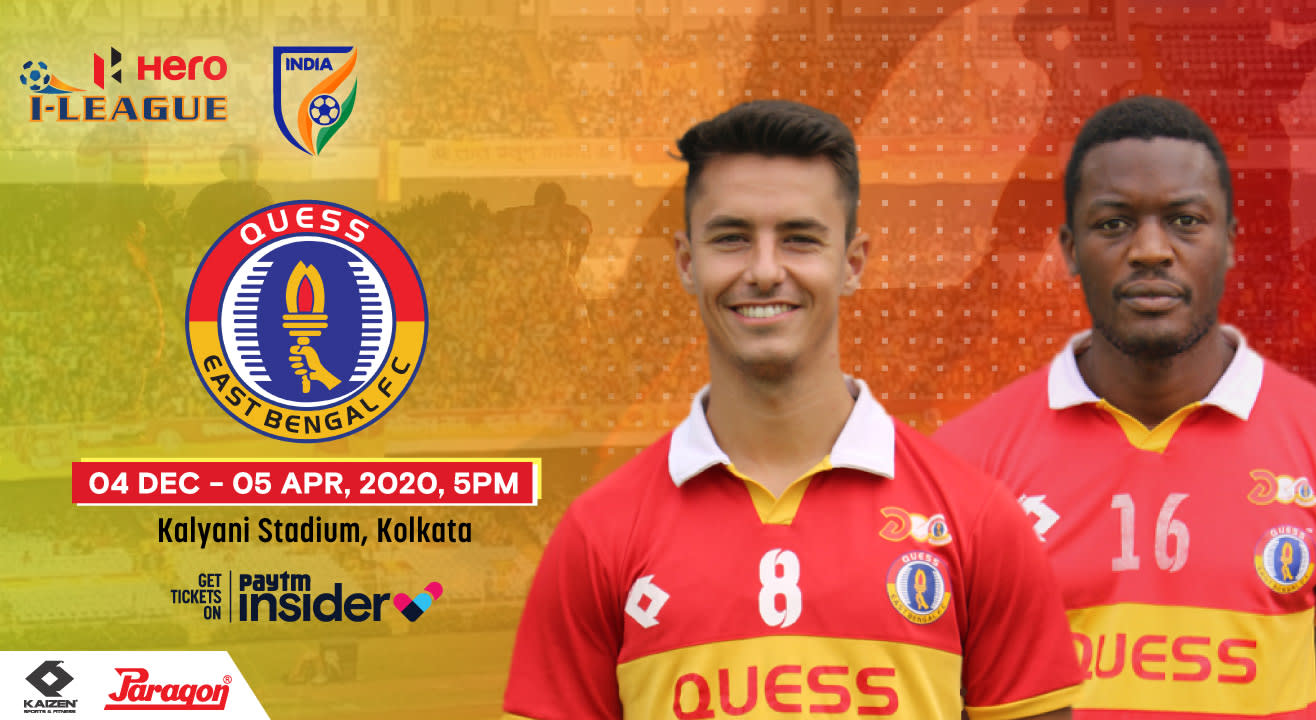 Hero I-League 2019-20: Quess East Bengal FC Home Matches