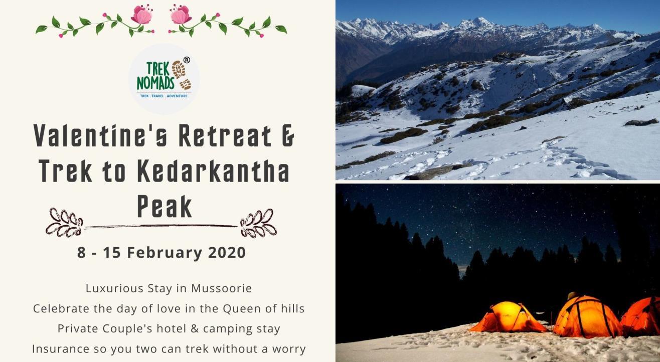 Valentine's Retreat & Trek to Kedarkantha Peak | TrekNomads