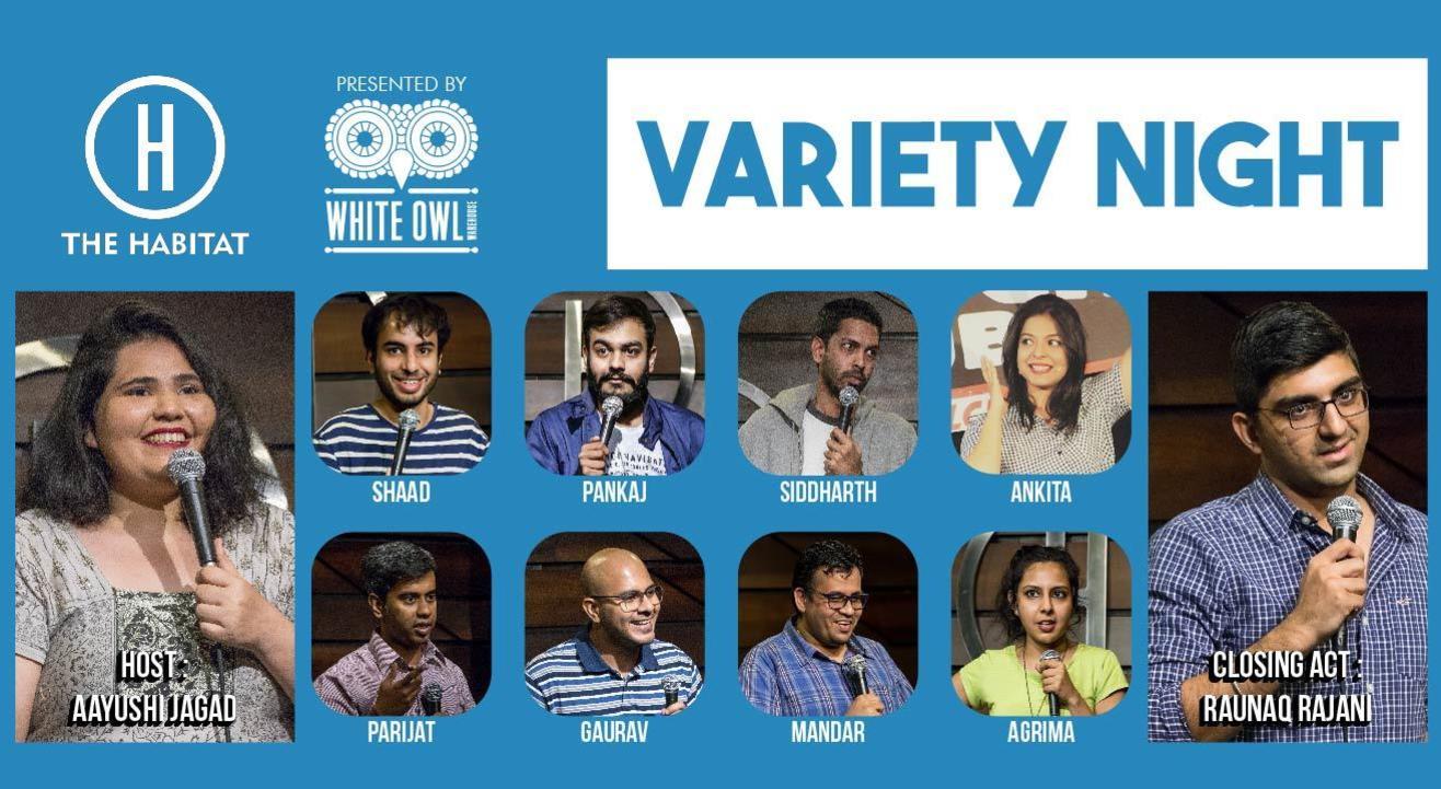 Variety Night at The Habitat with Aayushi Jagad