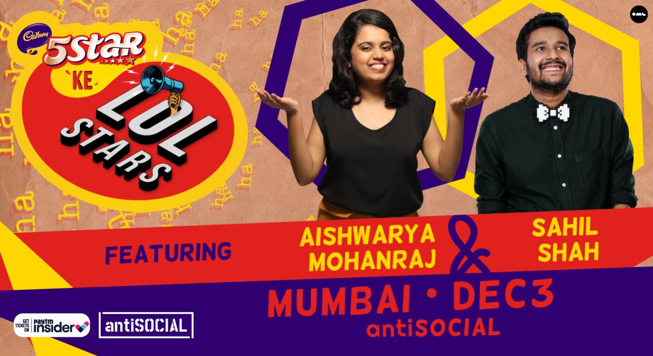 5 Star Ke LOLStars ft Aishwarya Mohanraj & Sahil Shah | Mumbai
