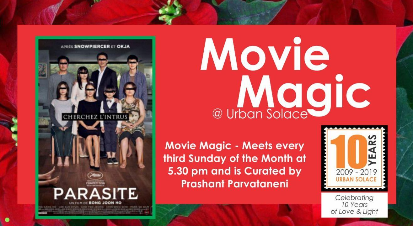 Movie Magic @ Urban Solace - December 2019 Edition