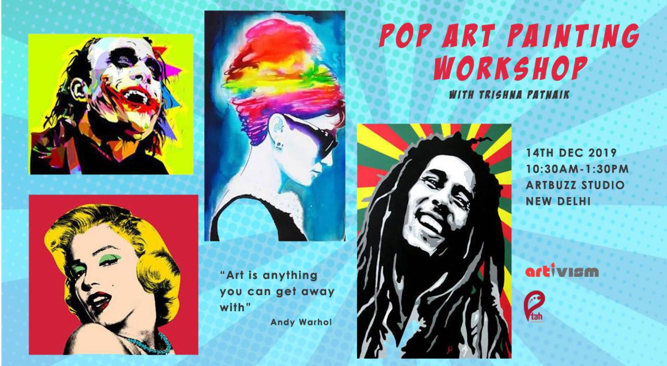 Pop Art Painting Workshop