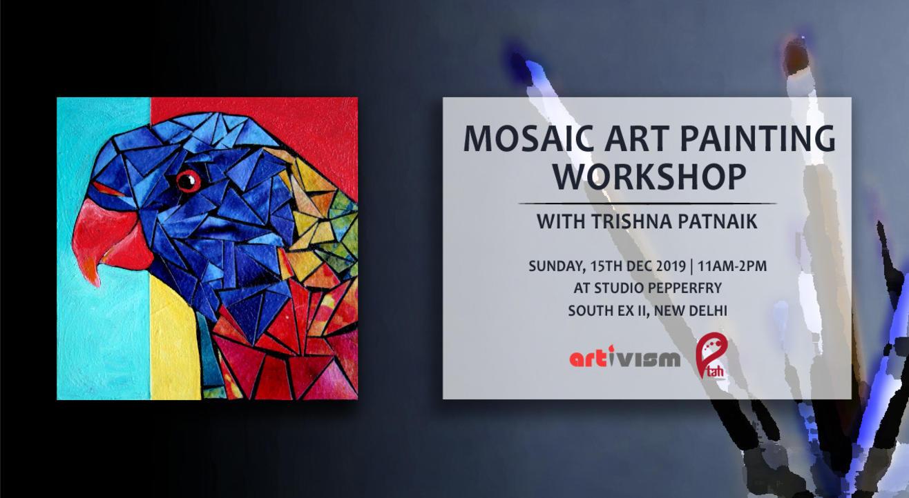 Mosaic Art Painting Workshop