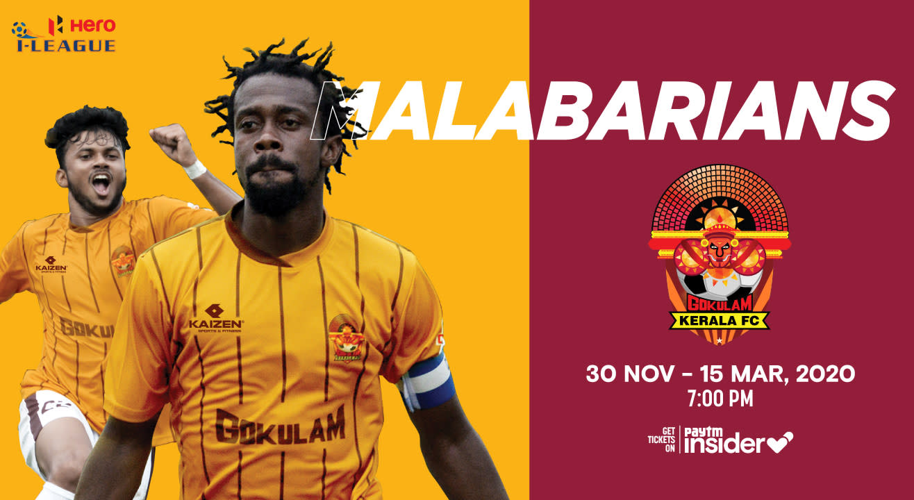 Get tickets to Gokulam Kerala FC Home Matches in HERO I-League 2019-20