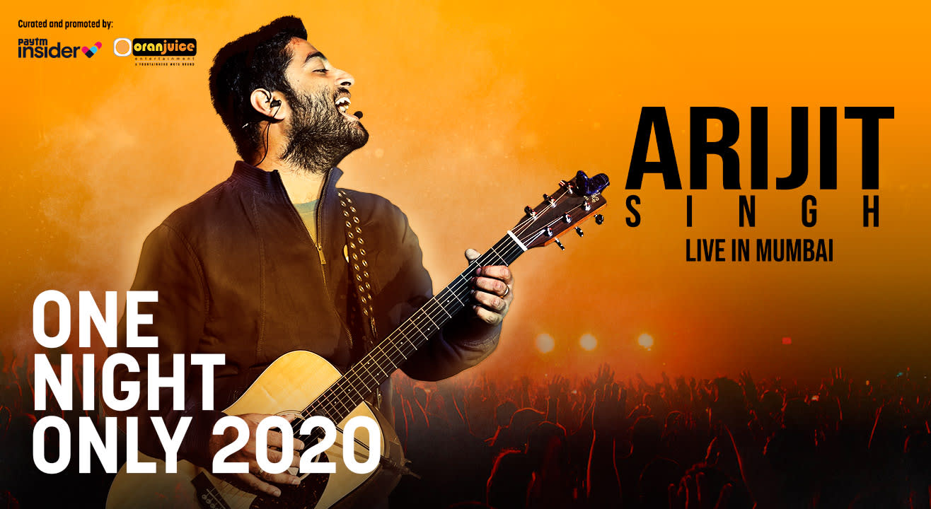 Arijit Singh Live in Mumbai   One Night Only 2020   Sign up for Early Access