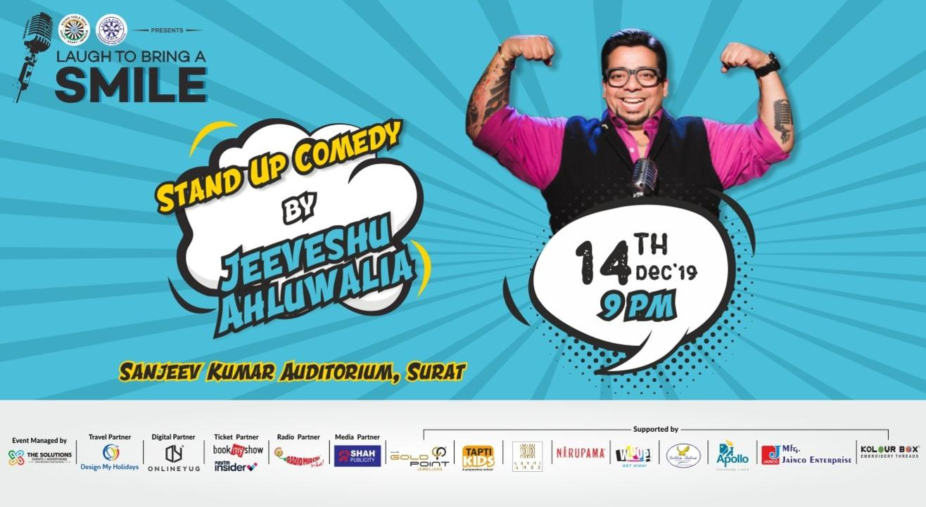 Laugh to bring a smile with Jeeveshu Ahluwalia - Surat