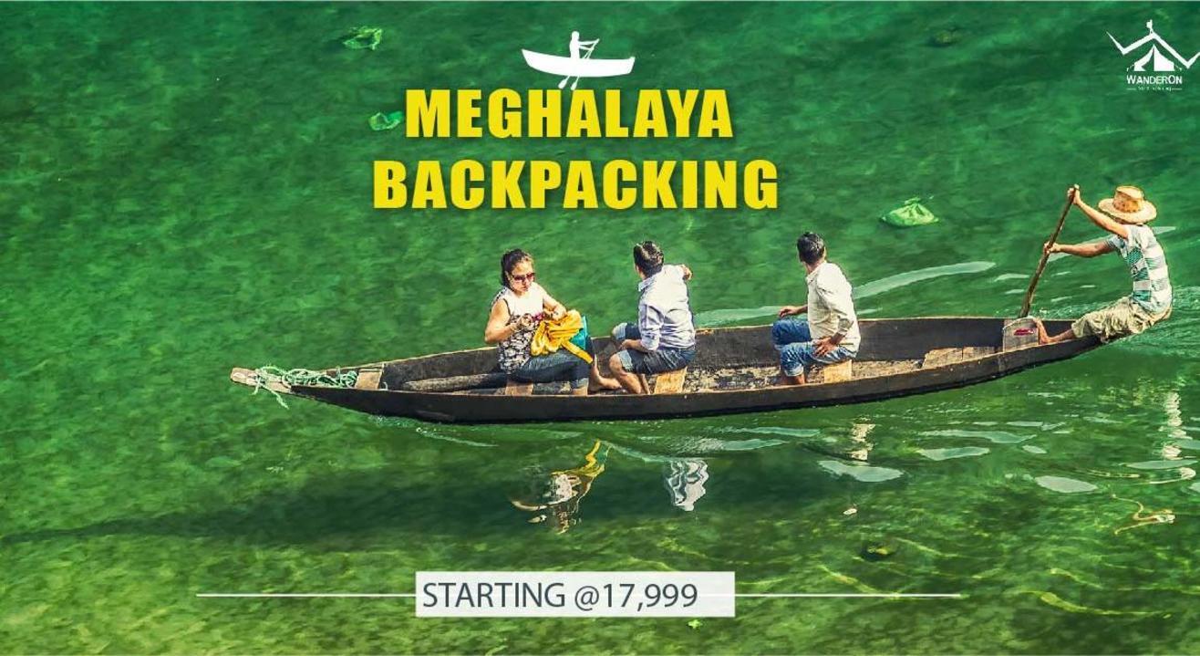 Meghalaya Road Trip Backpacking with WanderOn.
