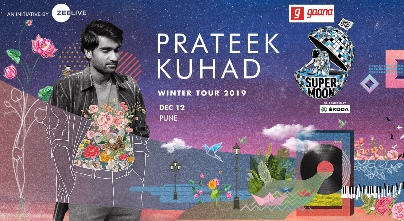 gaana presents Supermoon ft Prateek Kuhad Winter Tour co powered by Skoda - Pune