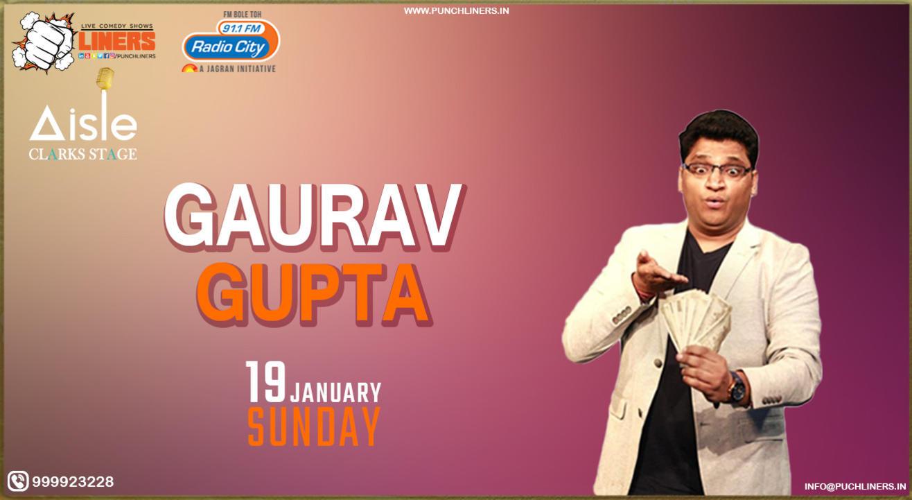 Punchliners Standup Comedy Show ft Gaurav Gupta