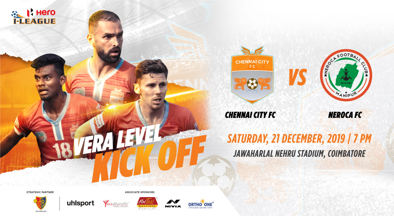 Hero I League 2019-20: Chennai City FC vs Neroca FC