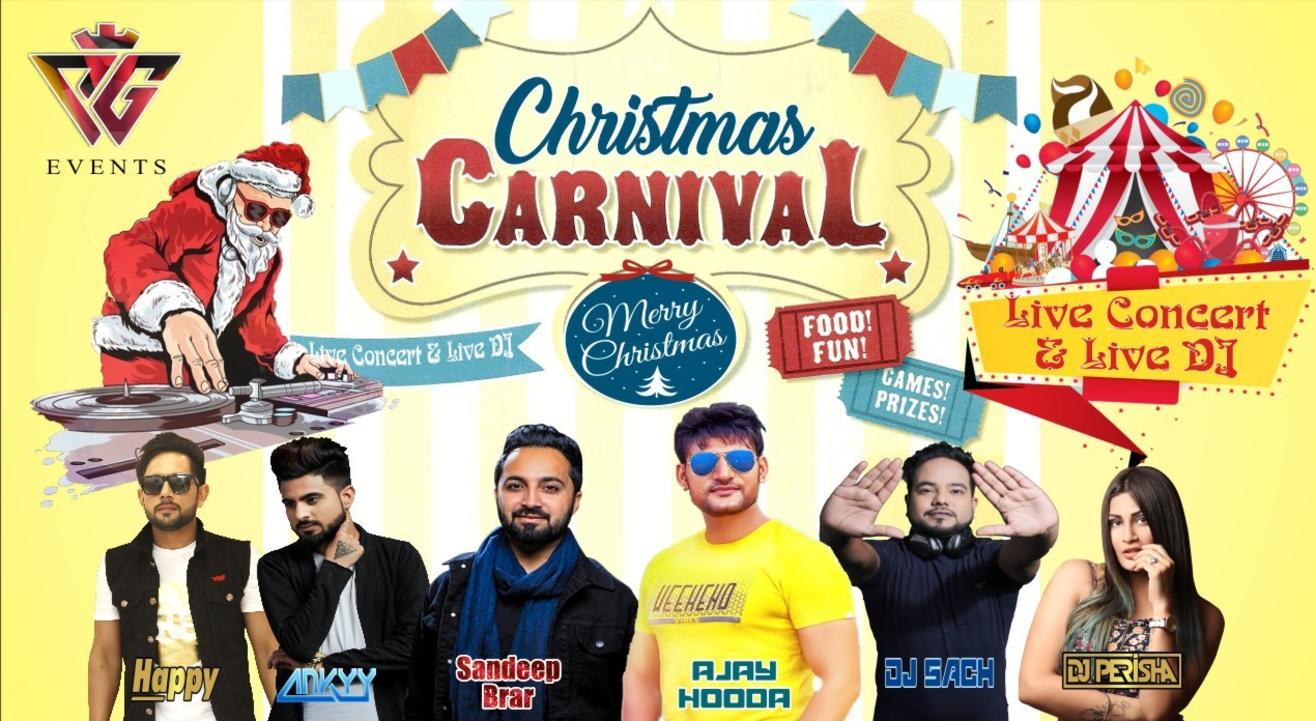 Christmas Carnival At Gaur City Club