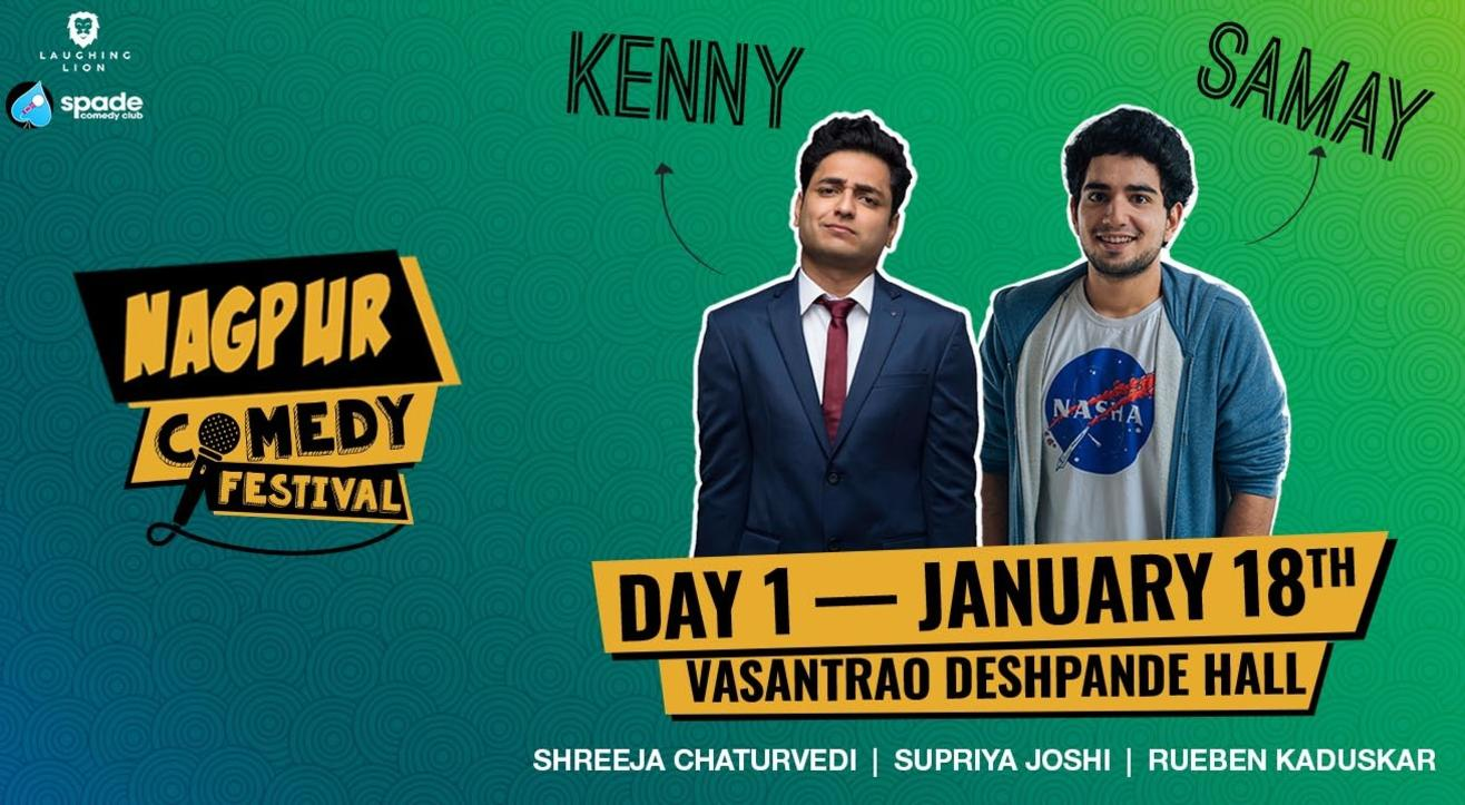 Nagpur Comedy Festival 2020 | Day 1