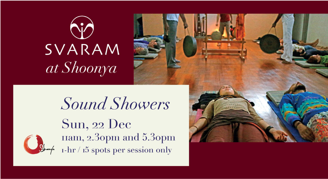 Sound Showers by SVARAM