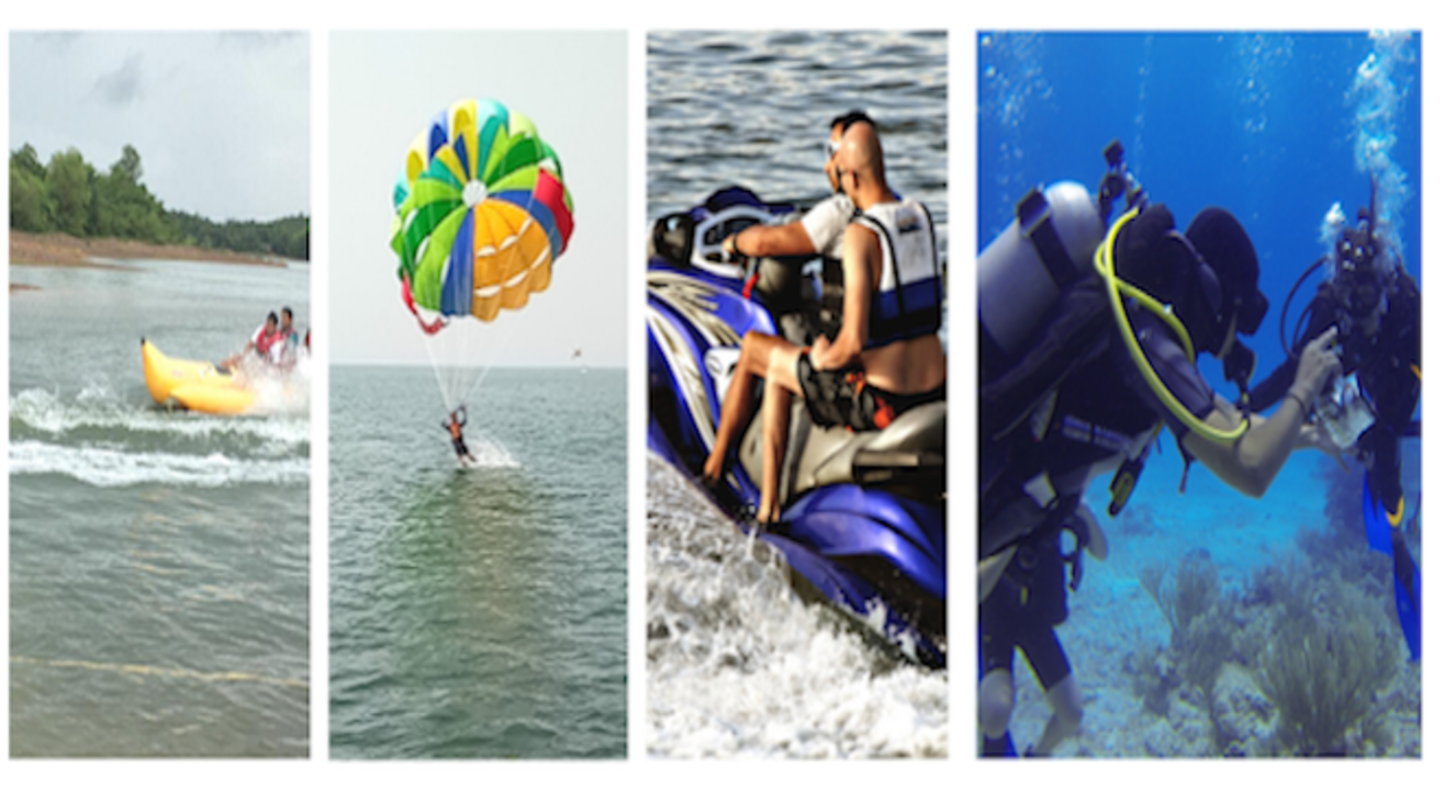Scuba & Water Sports at Grande Island in Goa