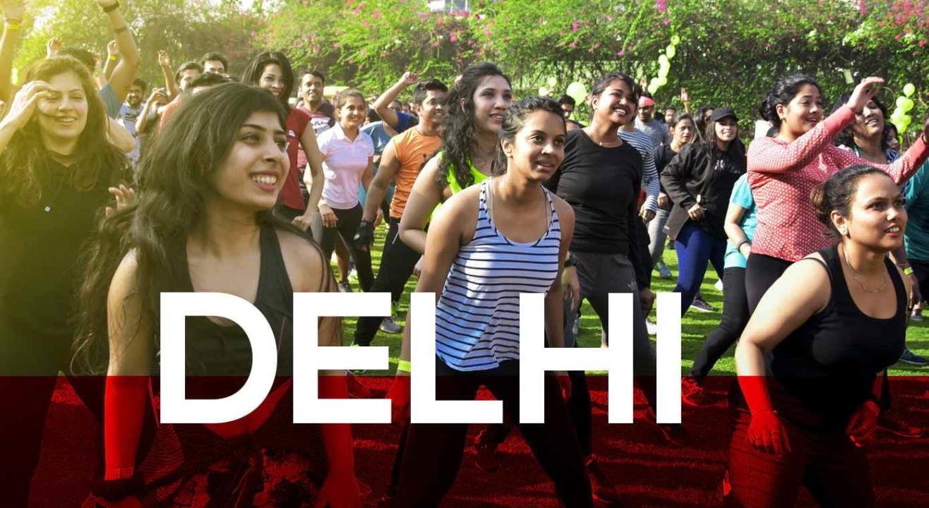 Jockey Morning Fitness Party - Delhi